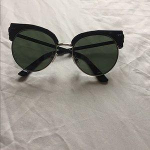 Spitfire green sunglasses